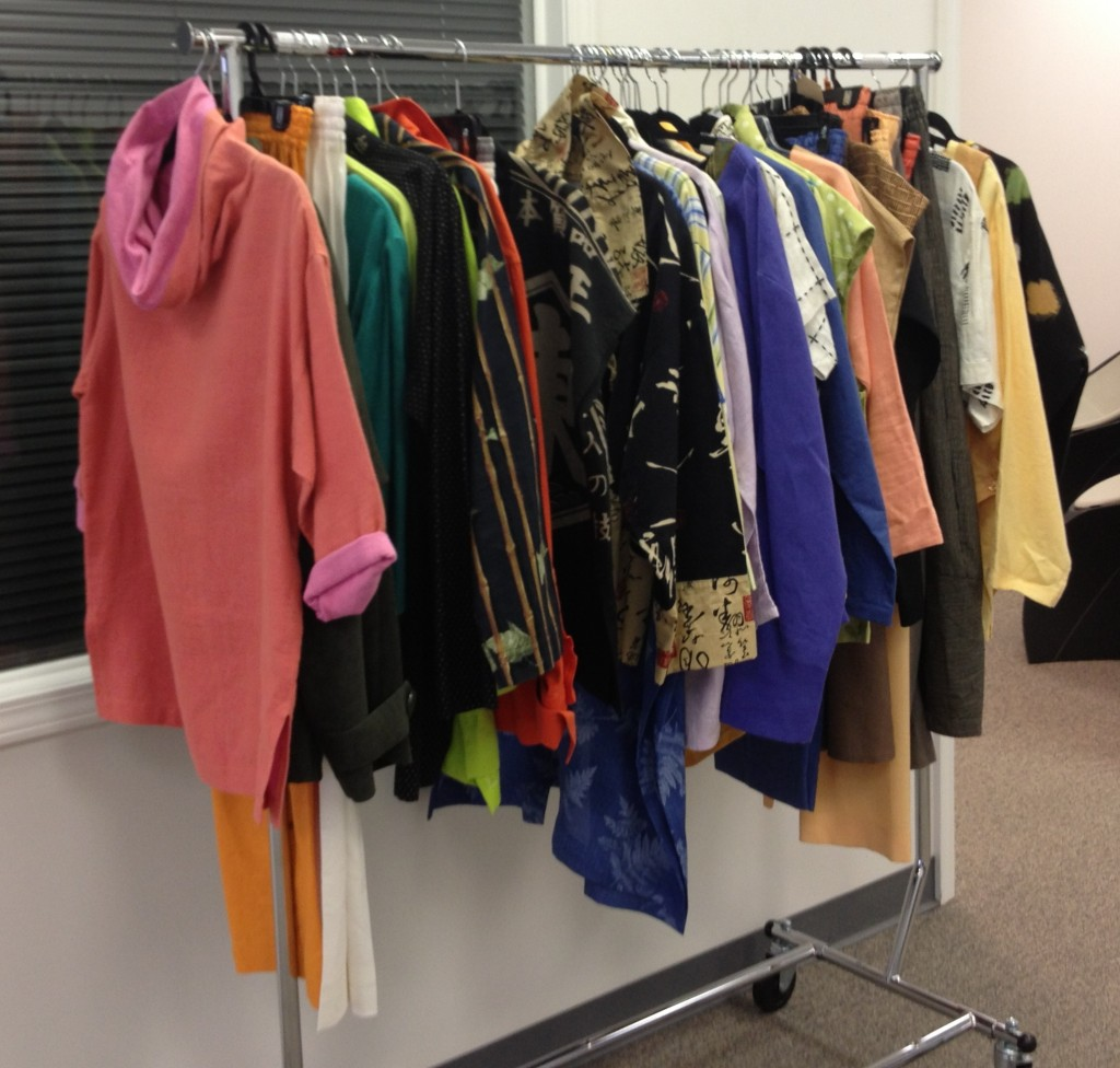 Rack of Beautiful Clothes