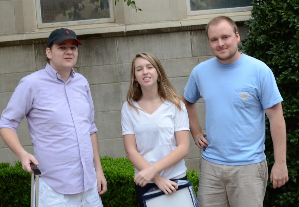 John, Layne and Patrick