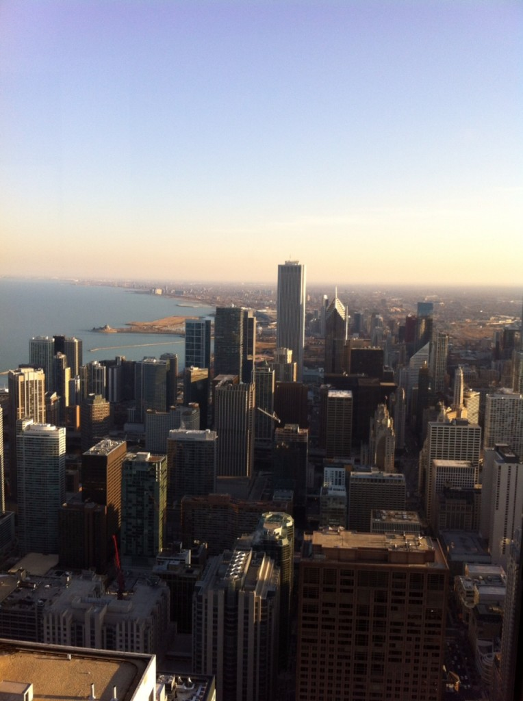 Chicago from on high!