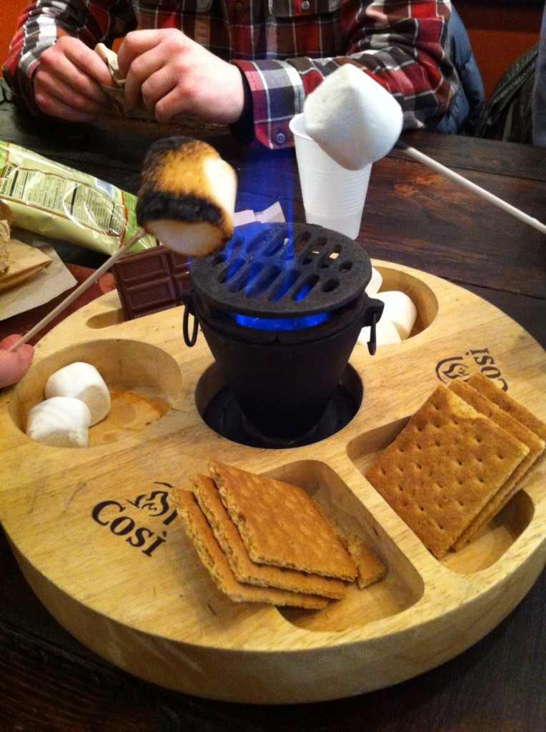 S'mores for lunch...what is better?
