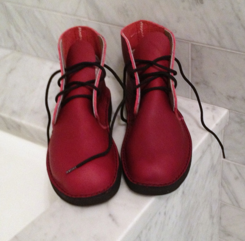 First Look at Finished Boots