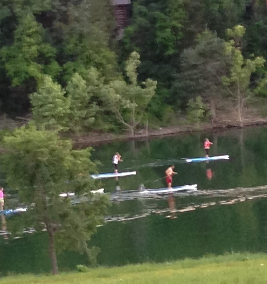 Paddle Boards on Table Rock Lake