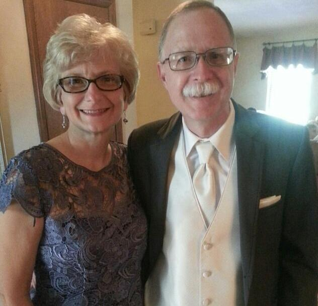 Carol and Pat Proud parents