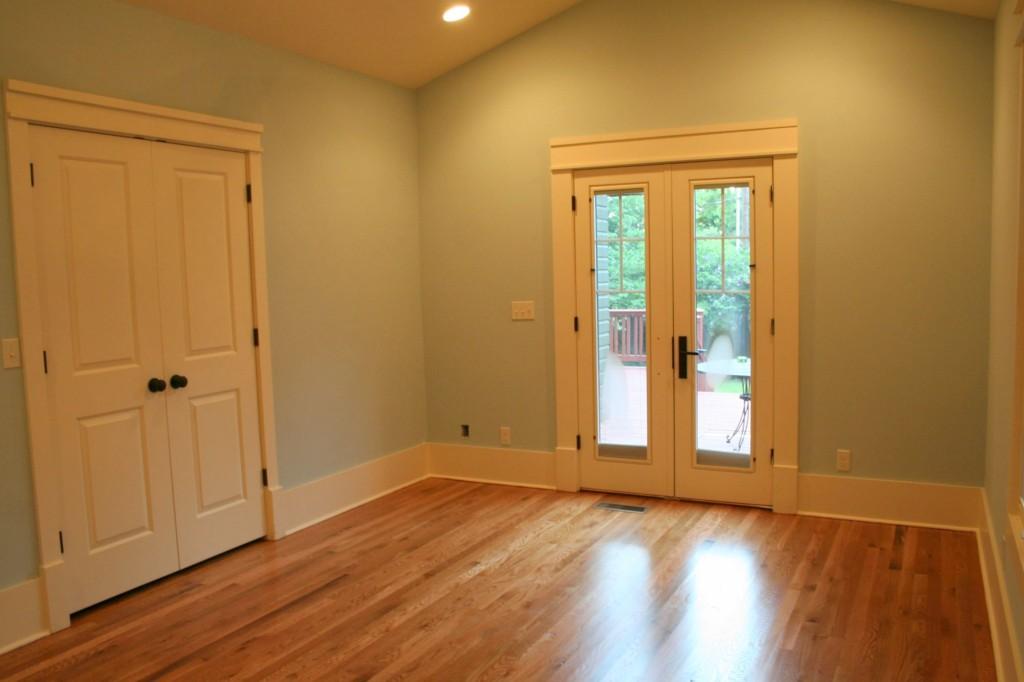 Blue Bedroom After