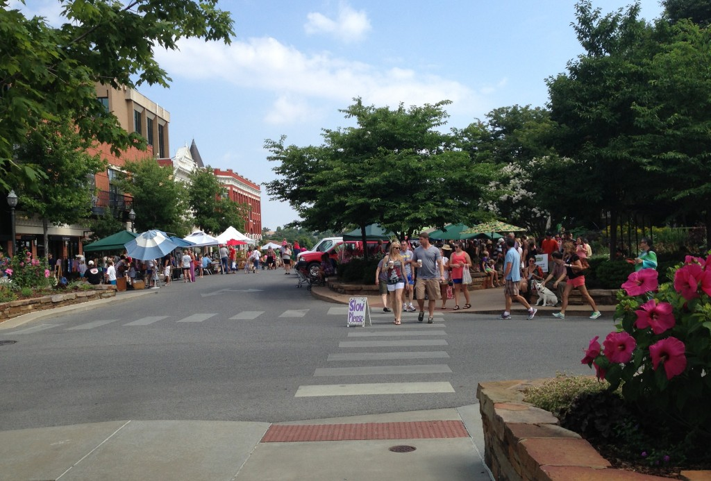 Farmer's Market Fayetteville Square