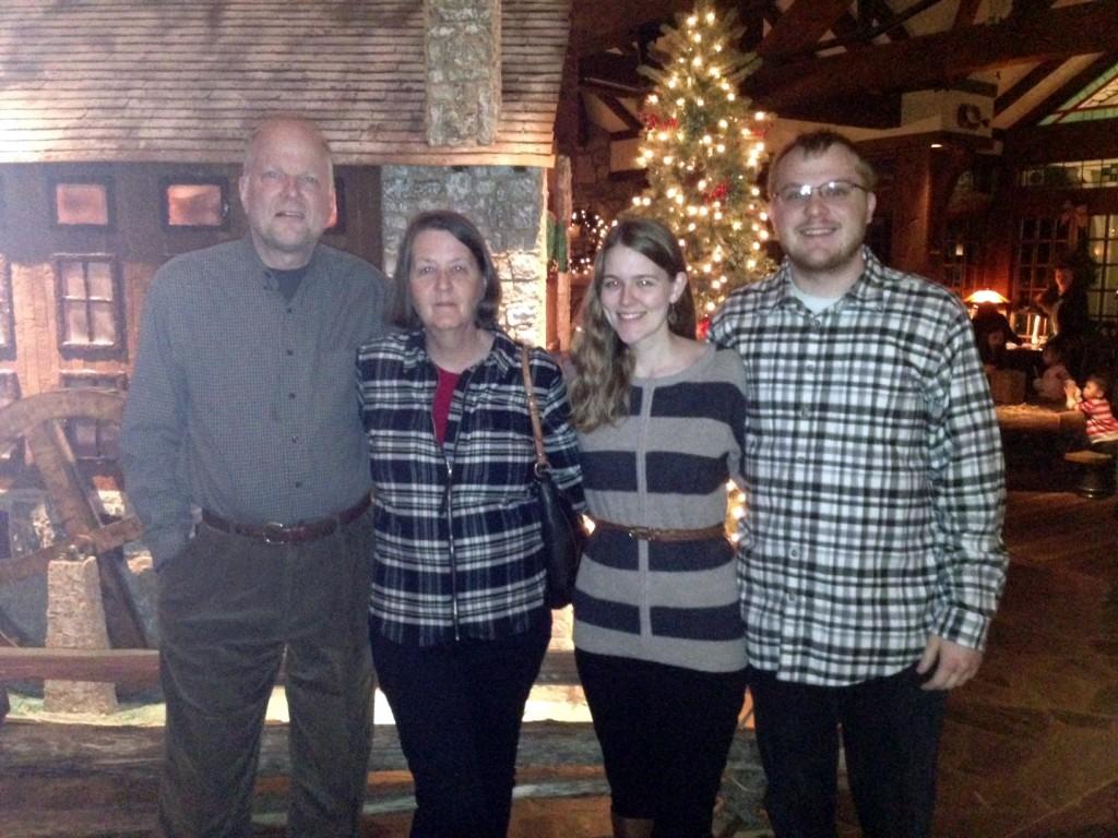 Christmas Eve at Big Cedar lodge