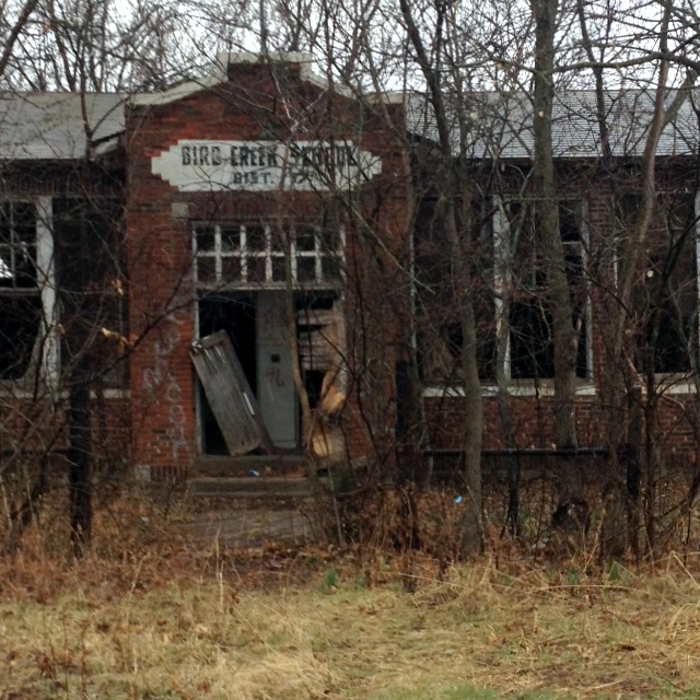 Abandoned Bird Creek School