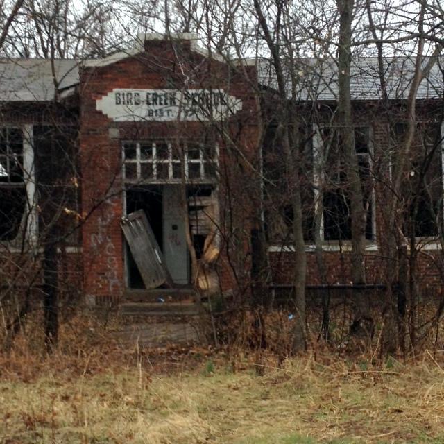 Abandoned Bird Creek School