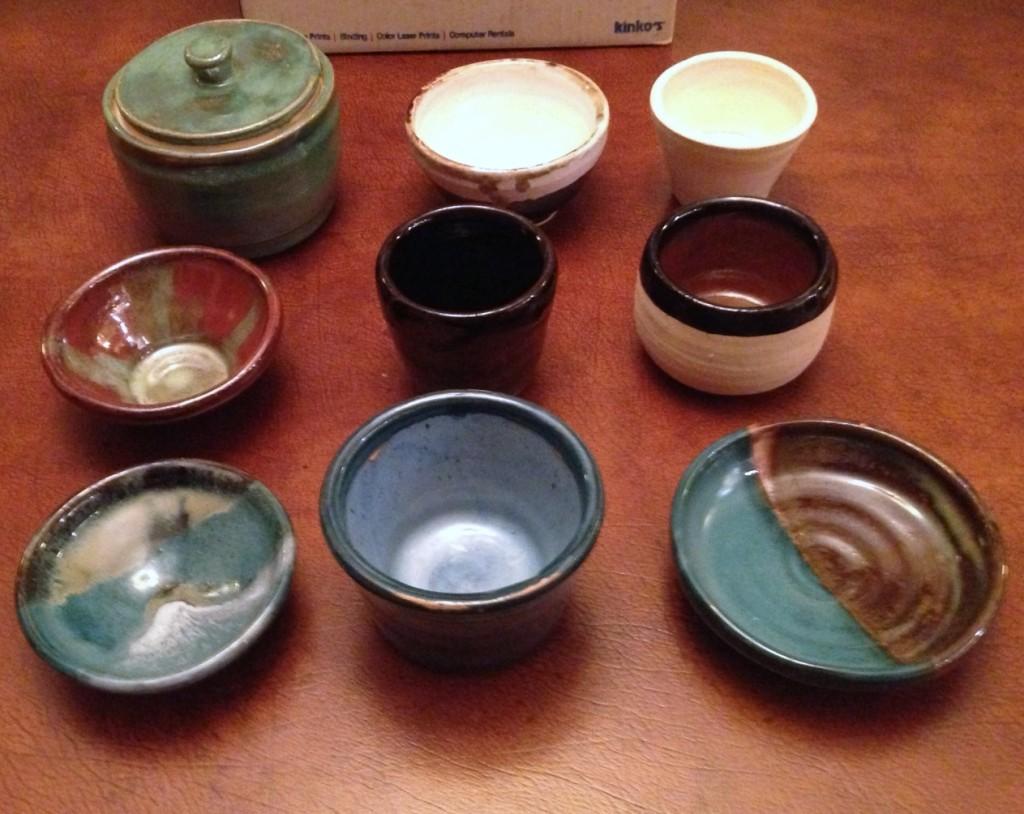Randy's ceramic pots