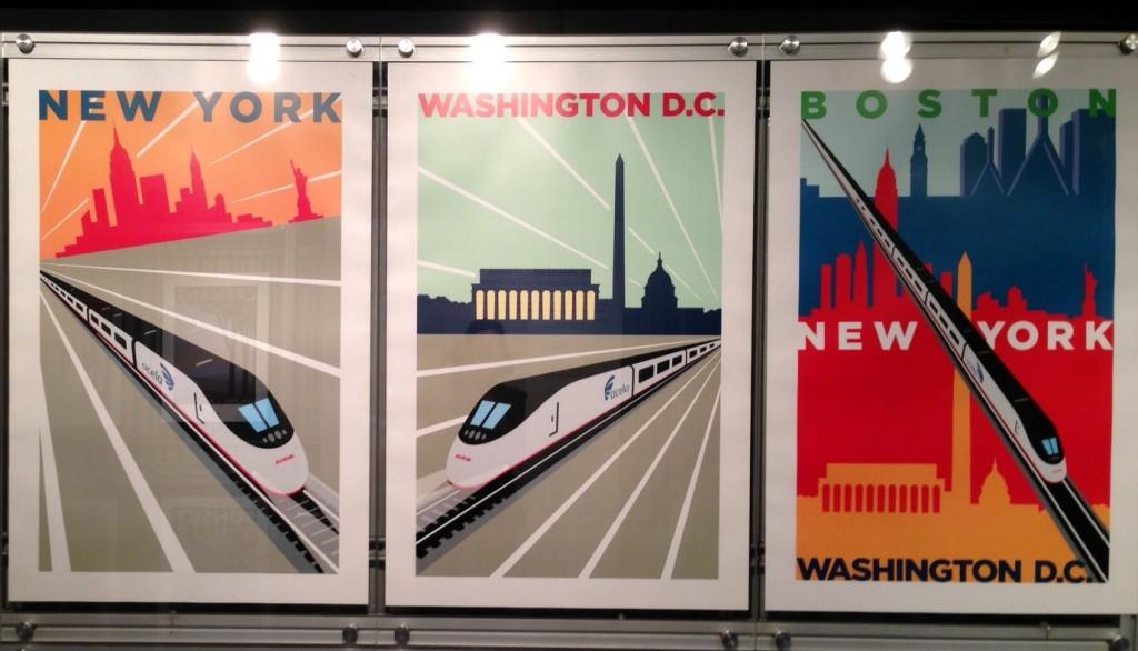 Amtrak Train Posters