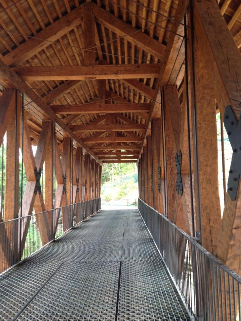 Amish made bridge