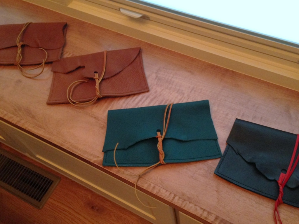 Bags to sell at the Four-Legged Bird