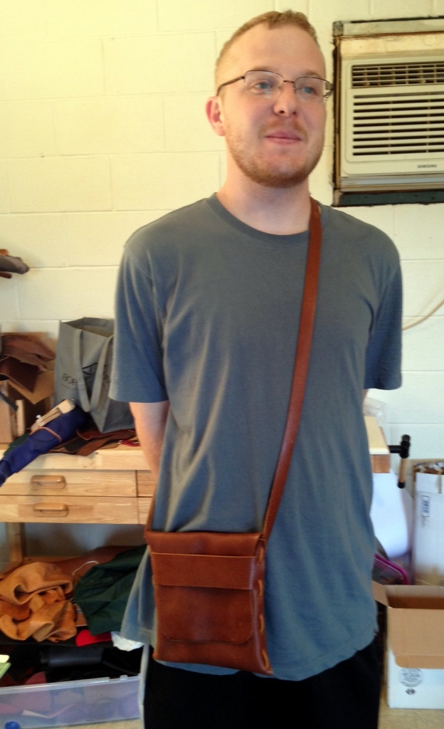 New Bag Experiment with James doing a fabulous job of modeling