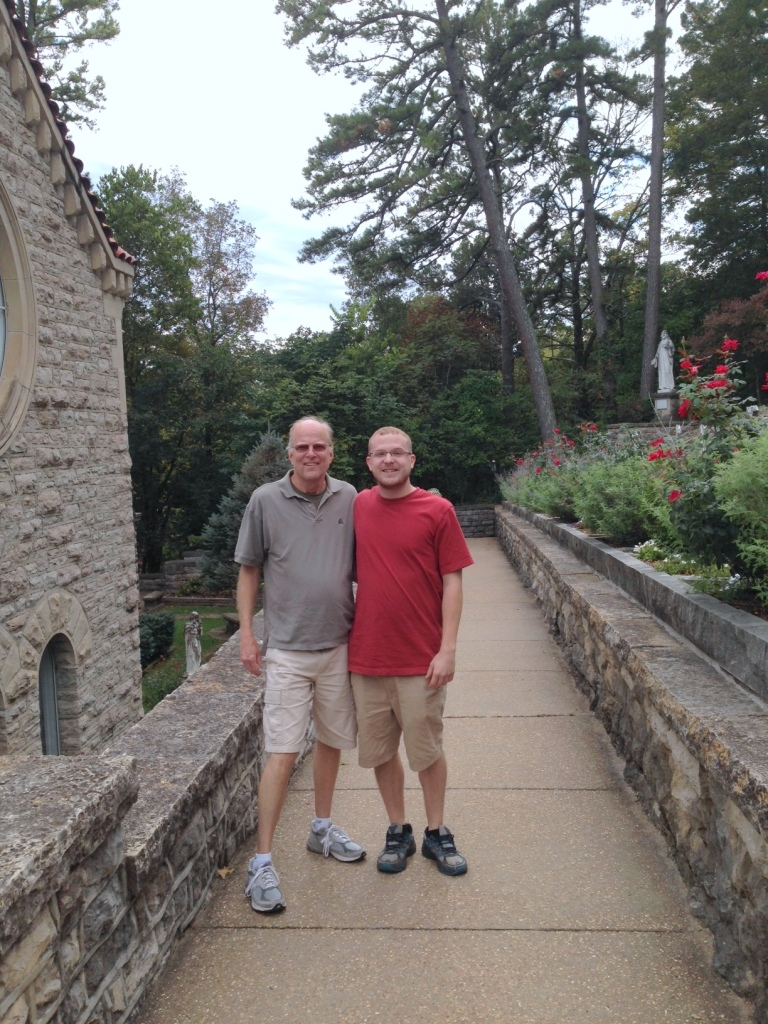 A visit to the historic Catholic Church in Eureka Springs
