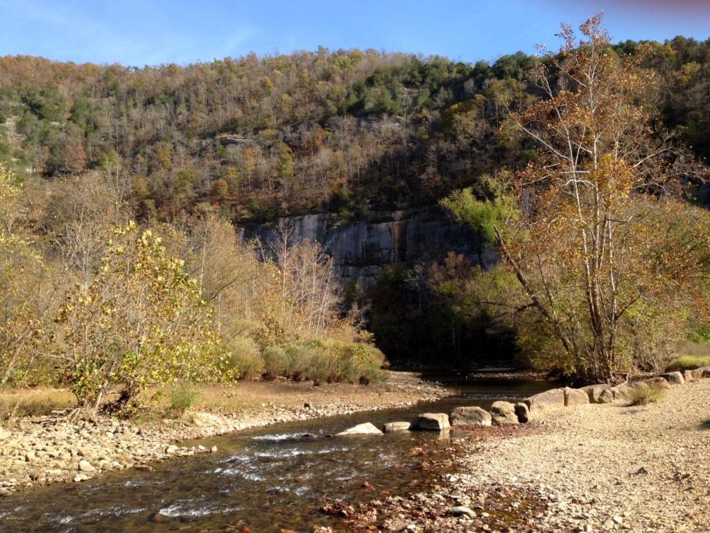 Buffalo River at Steel Creek