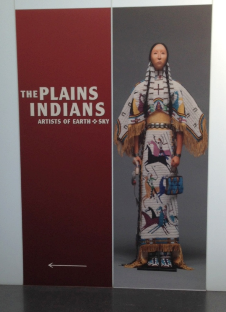The Plains Indians exhibit at the Nelson-Atkins Museum of Art