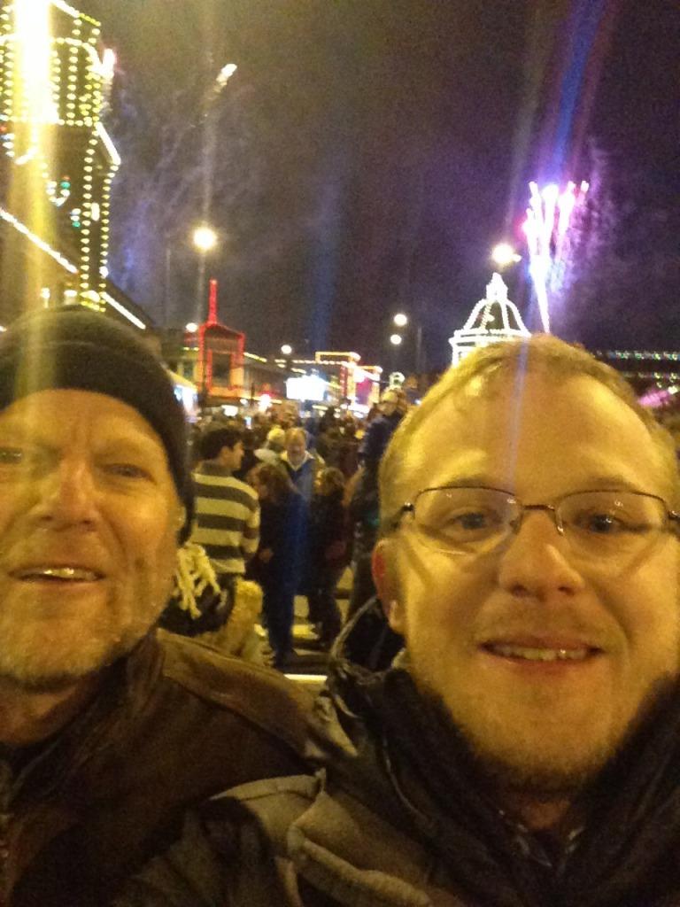 Randy and James Selfie
