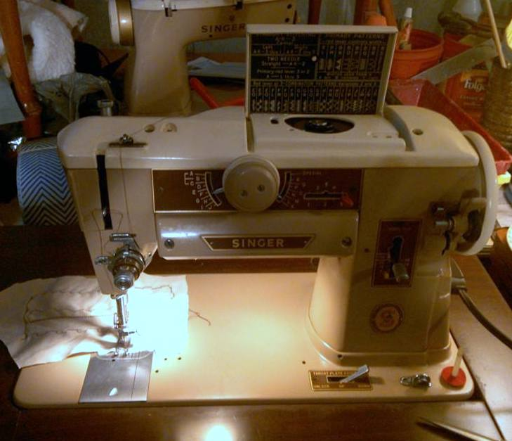 """My """"new"""" Singer 401A"""