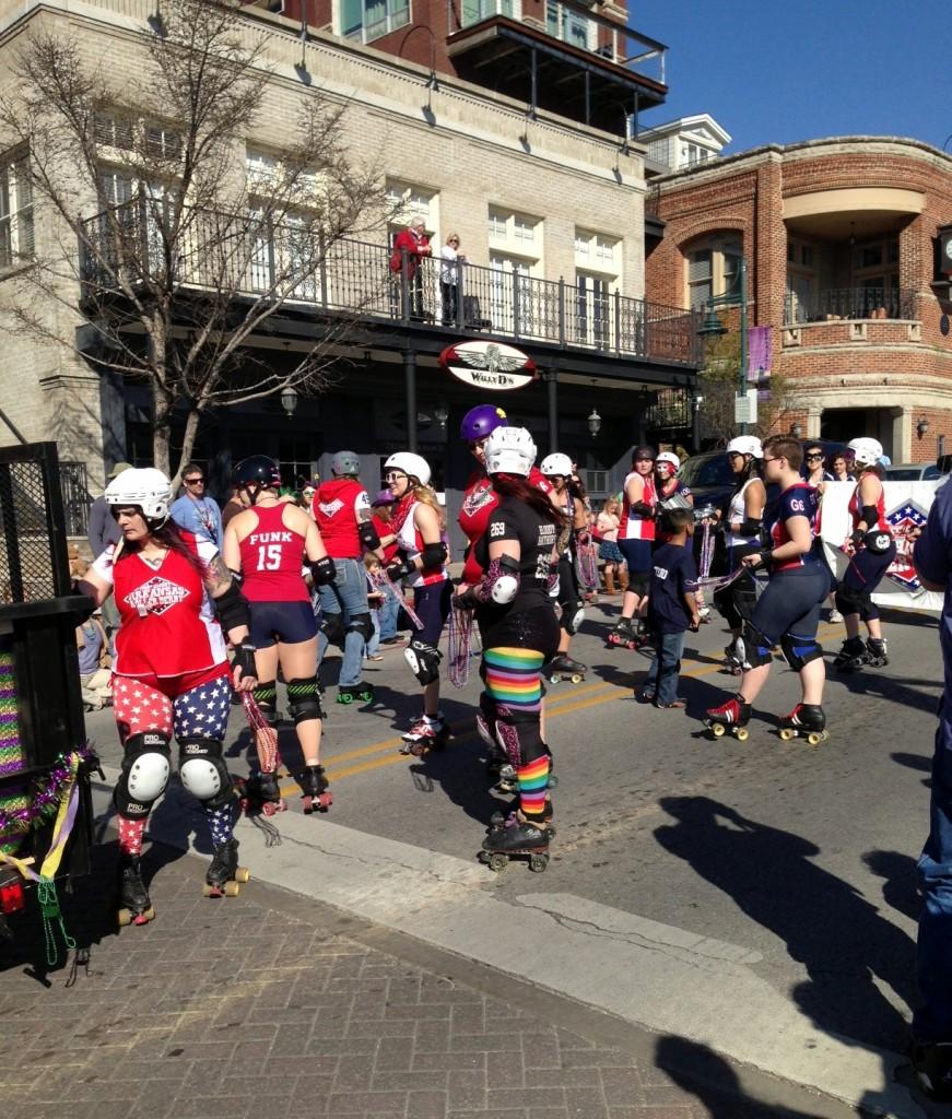 Roller Derby on Parade