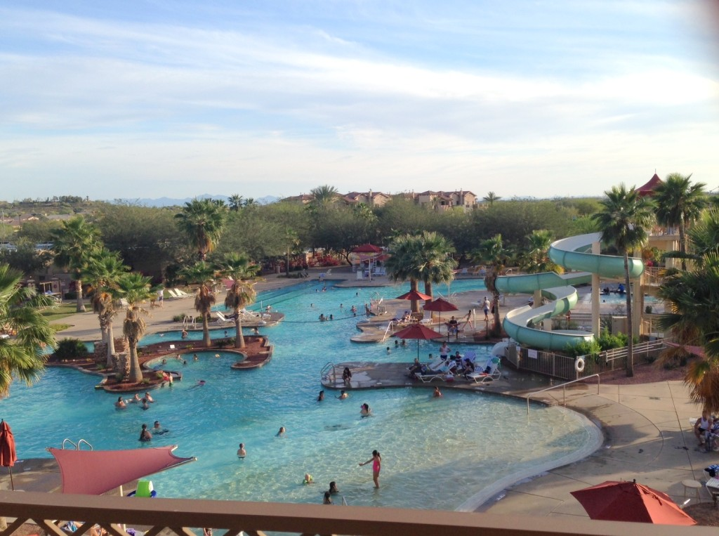 Pool at Cibola Vista Resort