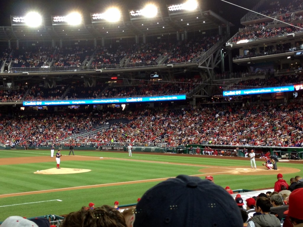 Nationals baseball game