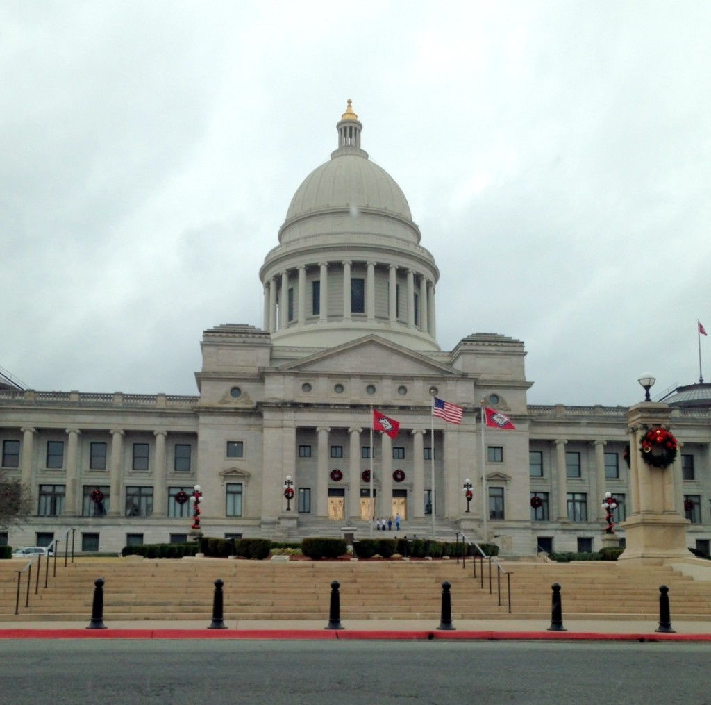 The Arkansas State Capitol