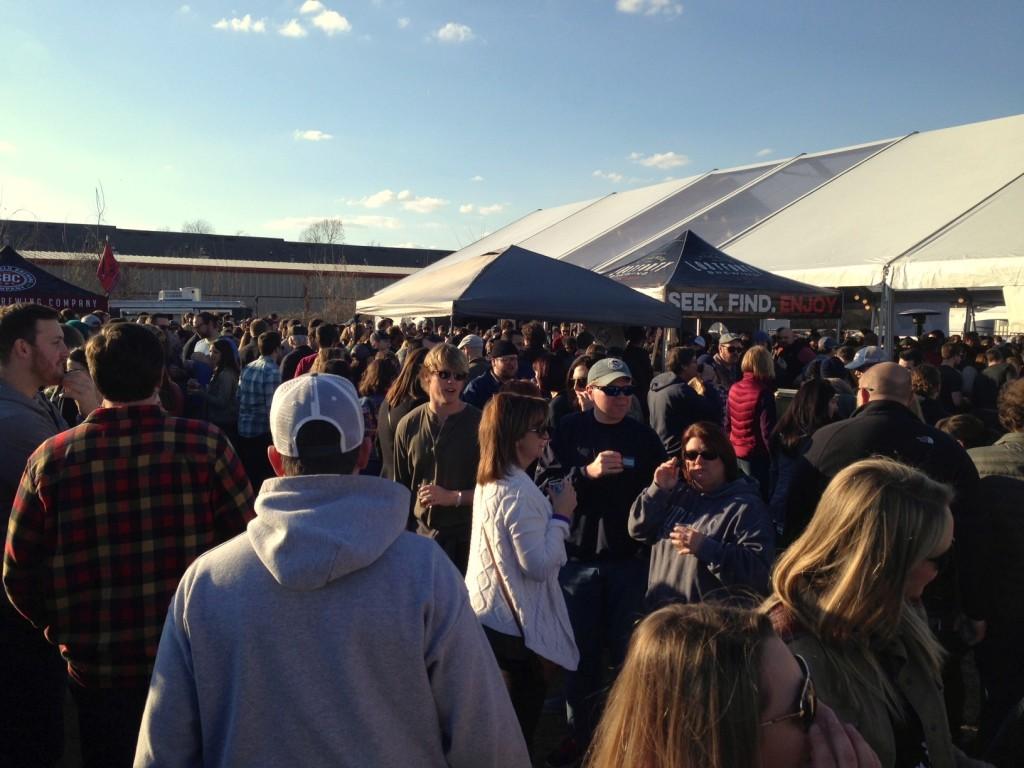 Frost Fest Crowd