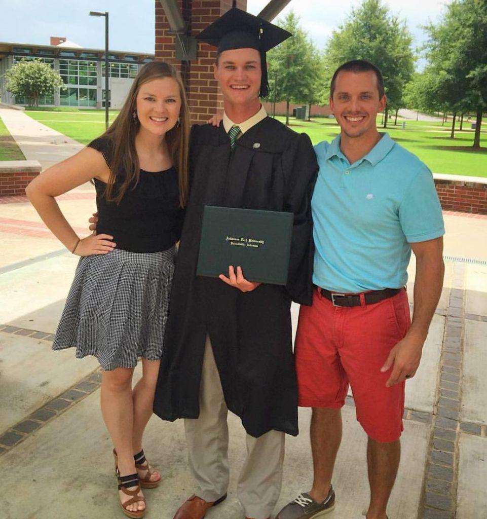 Bucky graduates!